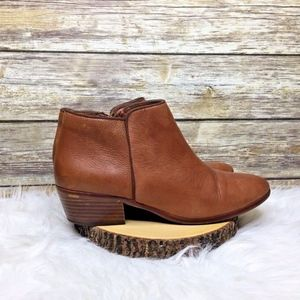 Sam Edelman Shoes - Sam Edelman Petty Chelsea Tan Leather Booties